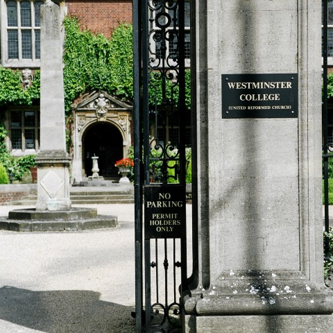 Westminster College Gate entrance